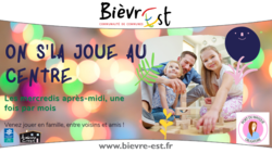 Atelier parents-enfants : On s'la joue au centre!