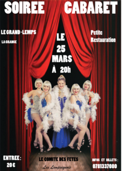 Le Grand-Lemps fait son cabaret