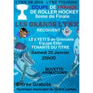 match de coupe de France - roller hockey