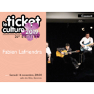 Ticket culture 2019 - Fabien Lafiandra Trio +