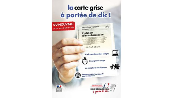 Informations carte grise
